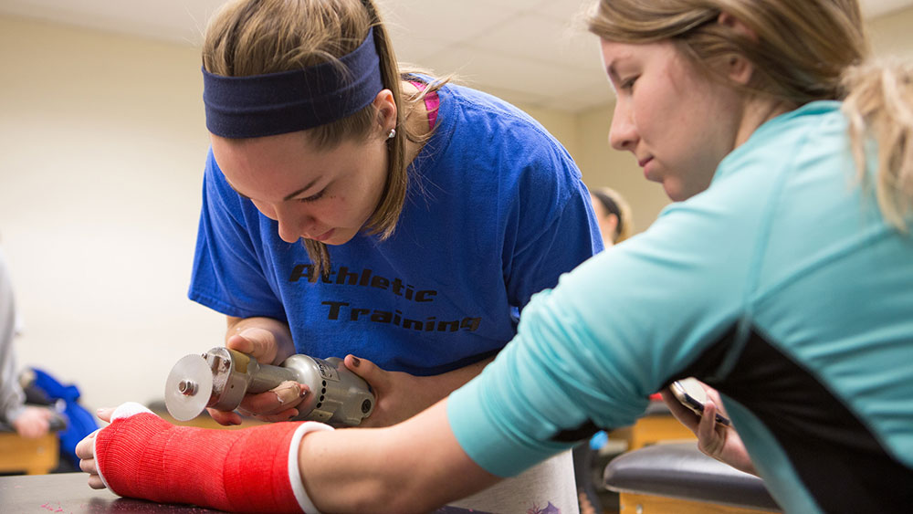 Athletic training masters degree program