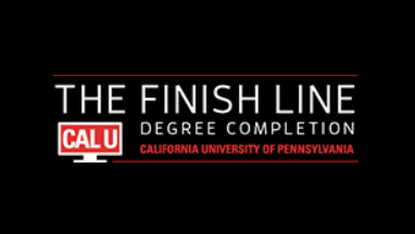 Finish Line logo.