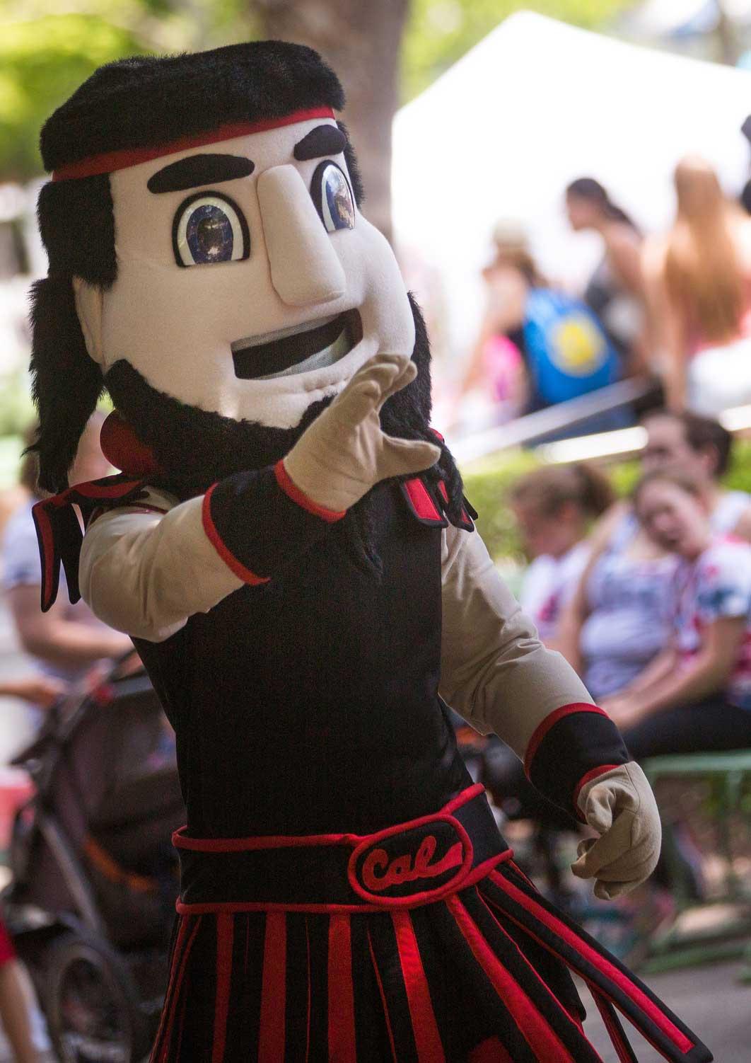 meet our mascot california university of pennslyvania