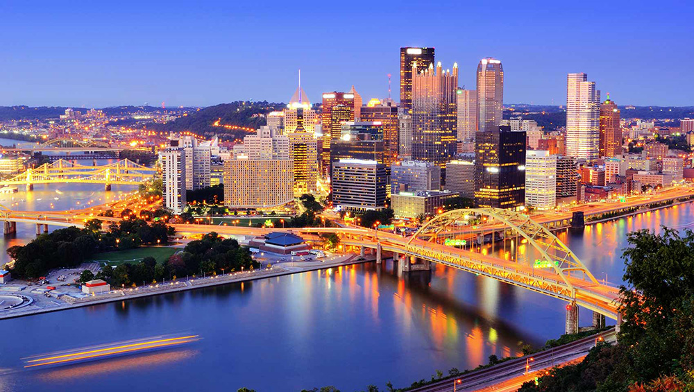 City of Pittsburgh skyline