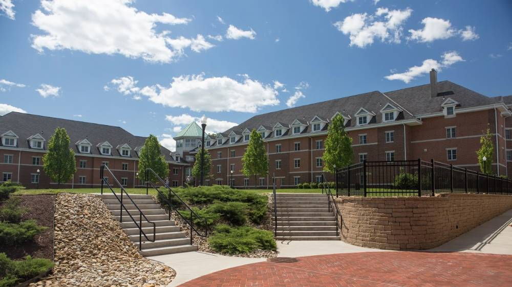 Residence Halls at California University of PA.