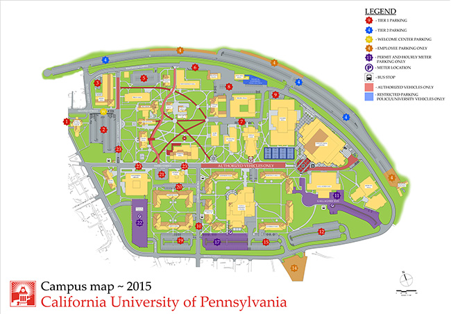 Student Parking Options | Cal U