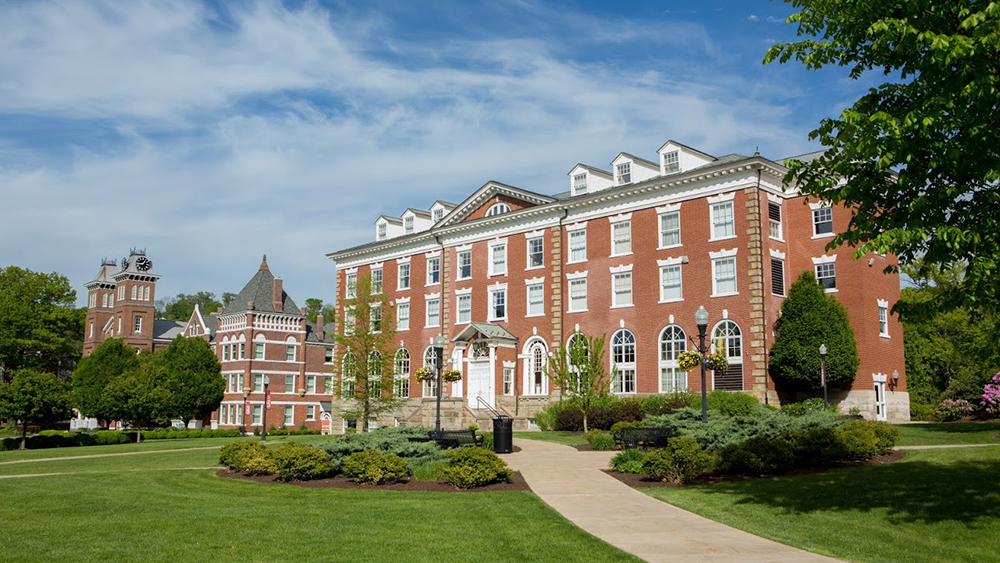 Dixon Hall at Cal U. Home to Financial Aid for veterans.