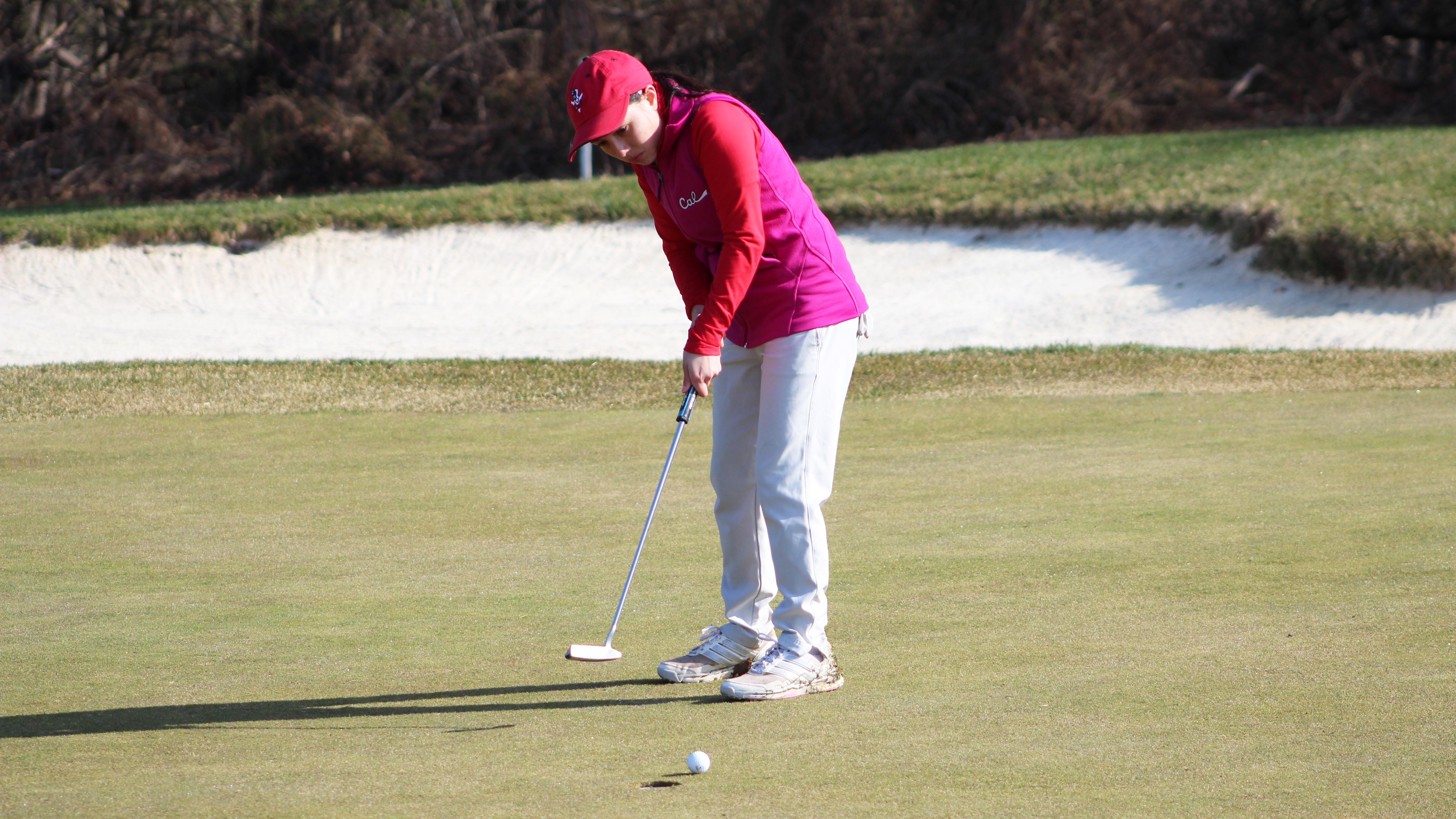 Golfer Sara Suazo