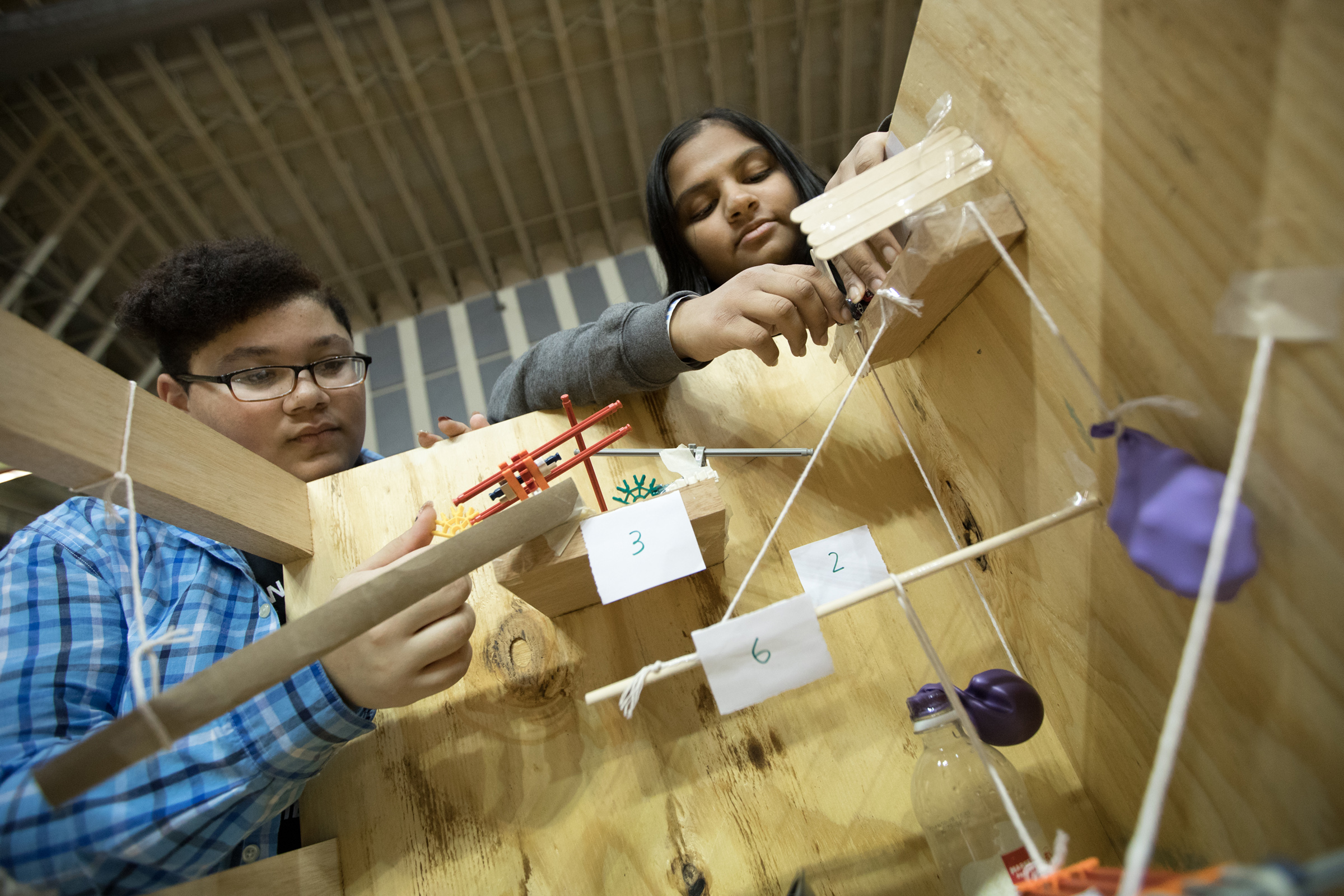 Cal U Welcomes Students to Science Olympiad Regional Competition