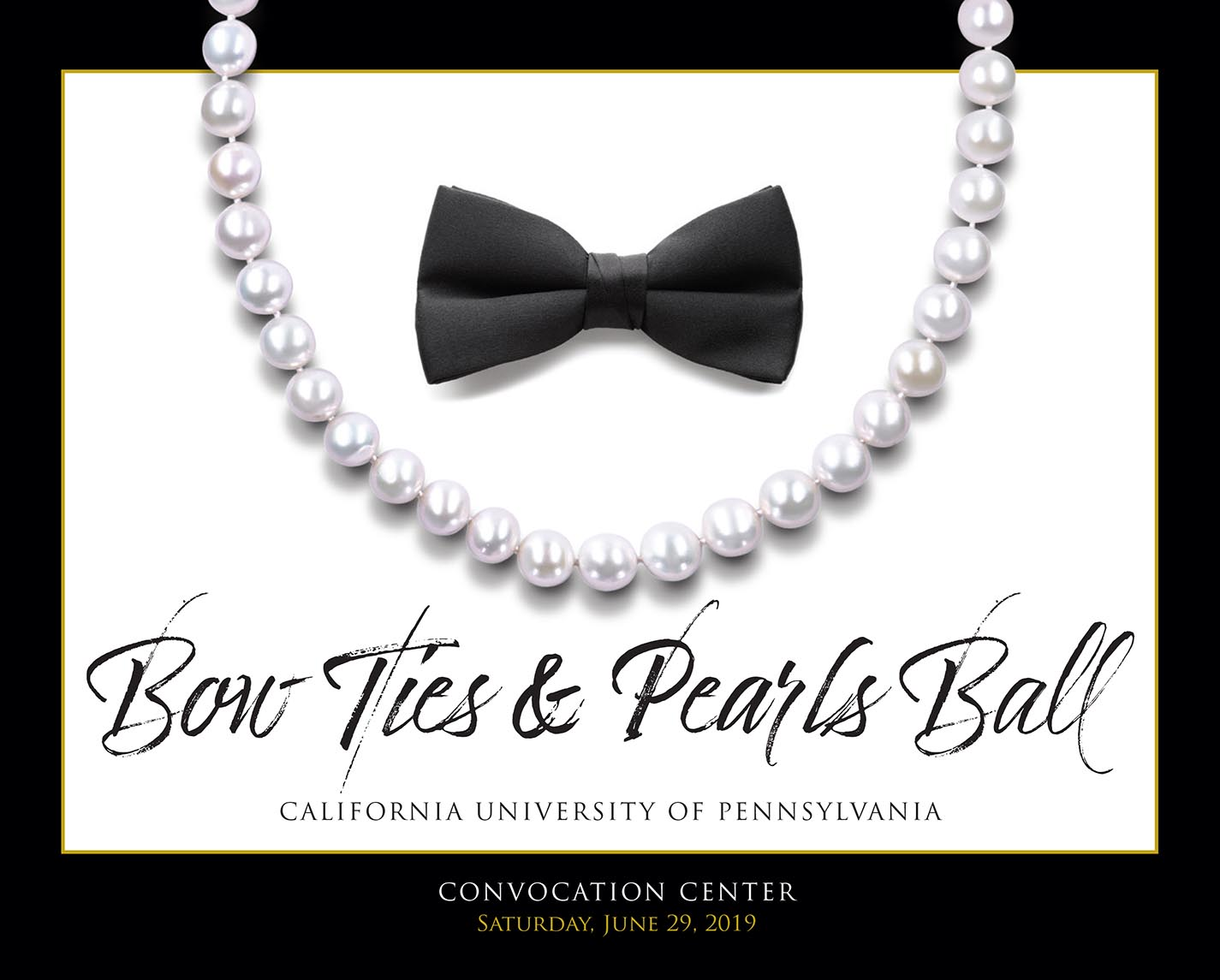 bow ties and pearls