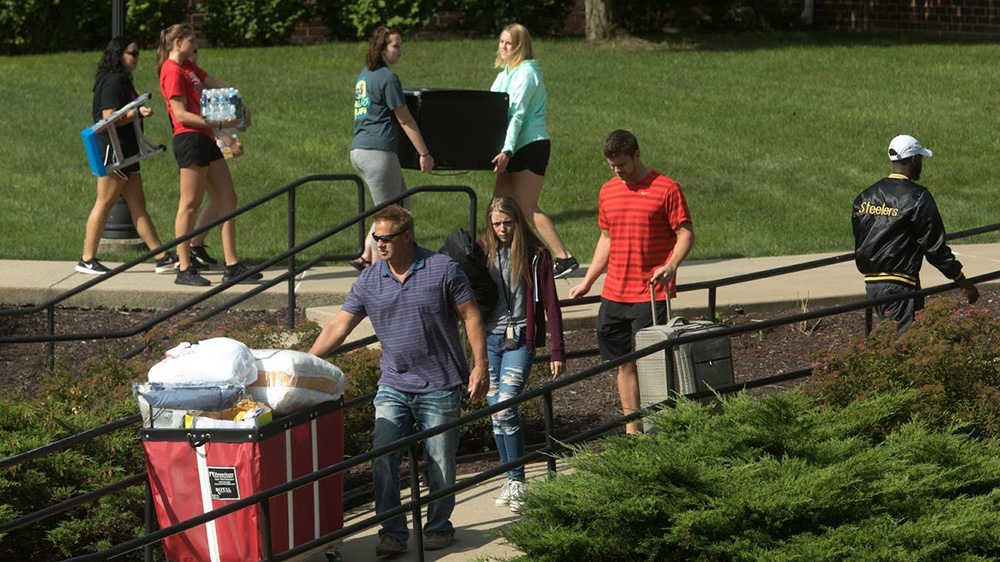 Move-In Day at Cal U.