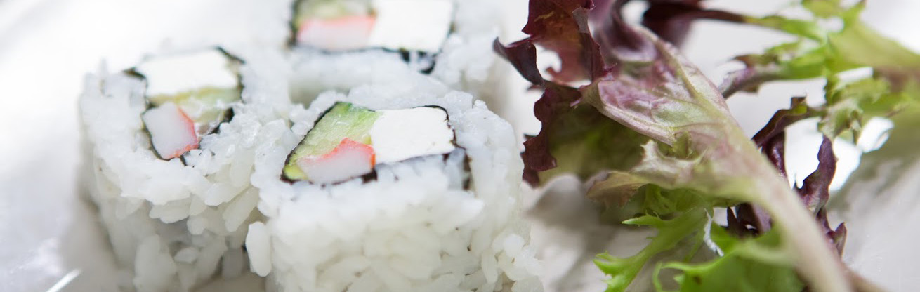 Sushi served at Cal U.